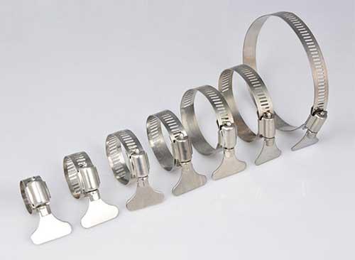 铁手柄不锈钢喉箍规格表