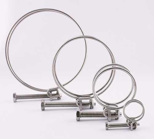 钢丝喉箍规格型号表