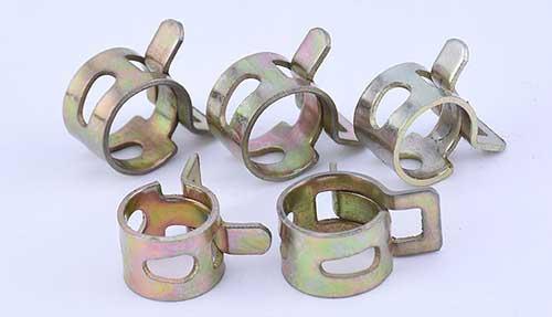 锰钢弹簧喉箍规格表
